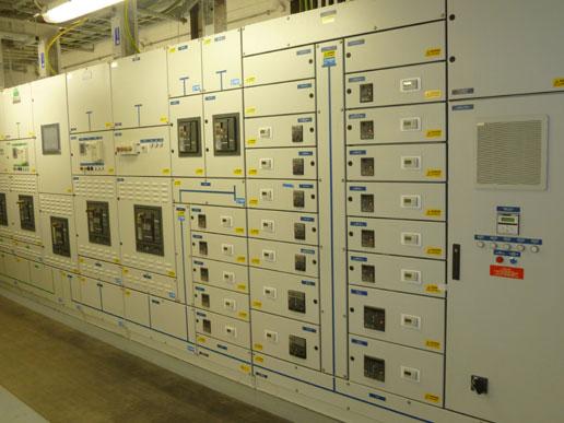 Black building testing including full HV/LV maintenance